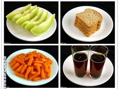 盘点含200卡路里不同食物分量 200卡路里能减肥吗