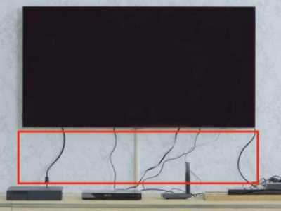 电视墙电线插座变成一团怎幺处理 插座收纳设计